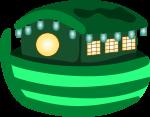 屋台船のイラスト3