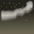 天の川背景のイラスト6