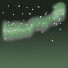 天の川背景のイラスト7