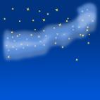 天の川背景のイラスト8