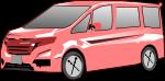 ワゴン車のイラスト1