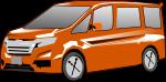 ワゴン車のイラスト2