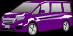 ワゴン車のイラスト4