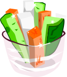 野菜スティックのイラスト2