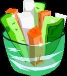 野菜スティックのイラスト4