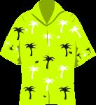 アロハシャツのイラスト3