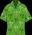 アロハシャツのイラスト4