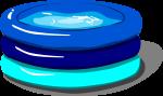 簡易プールのイラスト1
