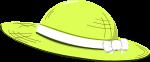麦わら帽子のイラスト5