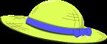 麦わら帽子のイラスト7