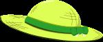 麦わら帽子のイラスト8