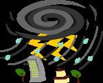 台風のイラスト3