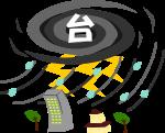 台風のイラスト5