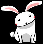 ウサギのイラスト12