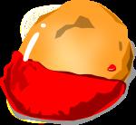 チキンナゲットのイラスト2