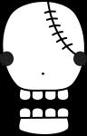 骸骨のイラスト5