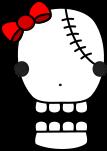 骸骨のイラスト6