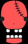 骸骨のイラスト7