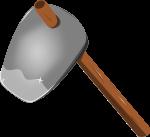 鍬のイラスト1
