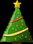 クリスマスツリーのイラスト5