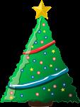 クリスマスツリーのイラスト6