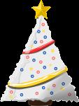 クリスマスツリーのイラスト8
