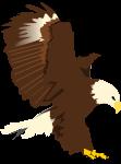 鷹のイラスト1