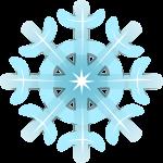 雪 結晶のイラスト6