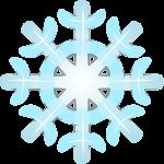 雪 結晶のイラスト7
