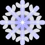 雪 結晶のイラスト8