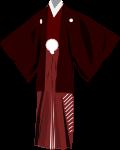 袴のイラスト4