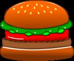 ハンバーガーのイラスト3