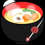 お雑煮のイラスト1