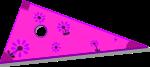 三角定規のイラスト3