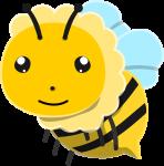 ミツバチのイラスト1