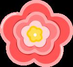 ももの花のイラスト4