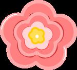 ももの花のイラスト5