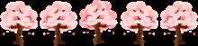 桜ラインのイラスト5