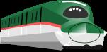 新幹線のイラスト1