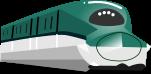 新幹線のイラスト2