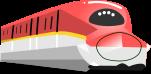 新幹線のイラスト4