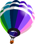 気球のイラスト2