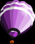 気球のイラスト4