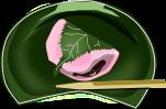 桜餅のイラスト2