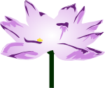 蓮の花のイラスト2
