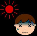 熱中症注意のイラスト2