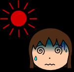 熱中症注意のイラスト3