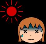 熱中症注意のイラスト4