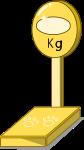 体重計のイラスト1