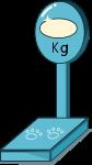 体重計のイラスト4
